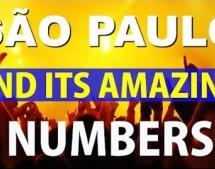 São Paulo and its amazing numbers
