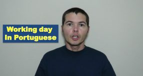 "How to Say ""Working / Business Day"" in Portuguese"