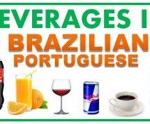 Beverages Vocabulary in Brazilian Portuguese (Cachaça)