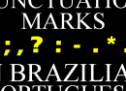 Punctuation Marks in Brazilian Portuguese