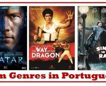 Film Genres in Brazilian Portuguese – Vocabulary