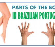 Parts of The Body in Portuguese – Vocabulary