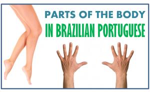 parts body brazilian portuguese vocabulary