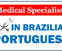Medical Specialists in Brazilian Portuguese – Vocabulary