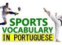 Sports in Brazilian Portuguese – Vocabulary