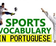 Sports in Brazilian Portuguese – Vocabulary