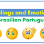 Feelings and Emotions In Brazilian Portuguese – Vocabulary