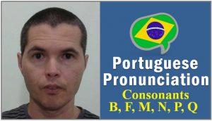 pronounce letter p q portuguese