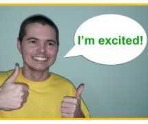 "How to Say ""I'm excited"" in Brazilian Portuguese"