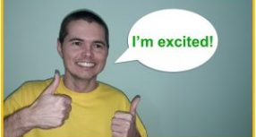 """How to Say """"I'm excited"""" in Brazilian Portuguese"""
