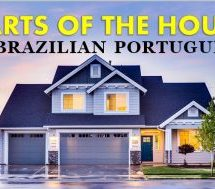 Parts of the House in Portuguese – Vocabulary