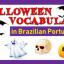 Halloween Vocabulary in Brazilian Portuguese
