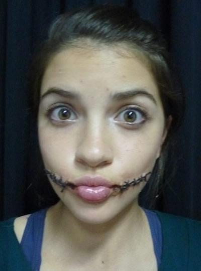 maquiagem pontos