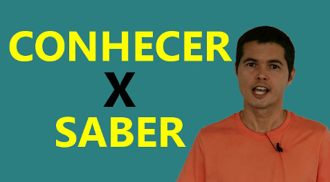 The Difference Between CONHECER and SABER