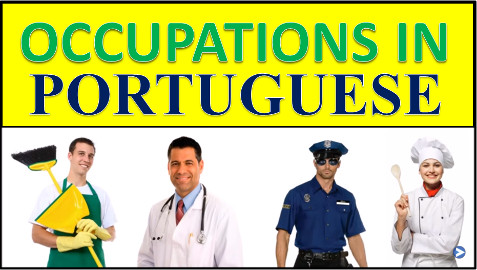 Jobs And Occupations in Portuguese – Vocabulary