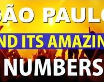 São Paulo and its amazing numbers