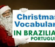 Christmas Vocabulary in Portuguese