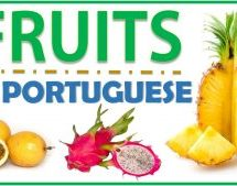 Fruits Vocabulary in Brazilian Portuguese