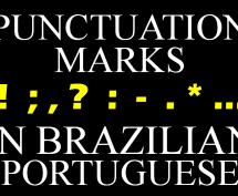 Punctuation Marks in Brazilian Portuguese