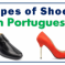 Types of Shoes in Portuguese – Footwear Vocabulary