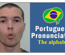 Brazilian Portuguese Pronunciation – The Alphabet