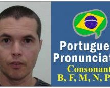 How to Pronounce The Letters B, F, M, N, P, Q in Portuguese