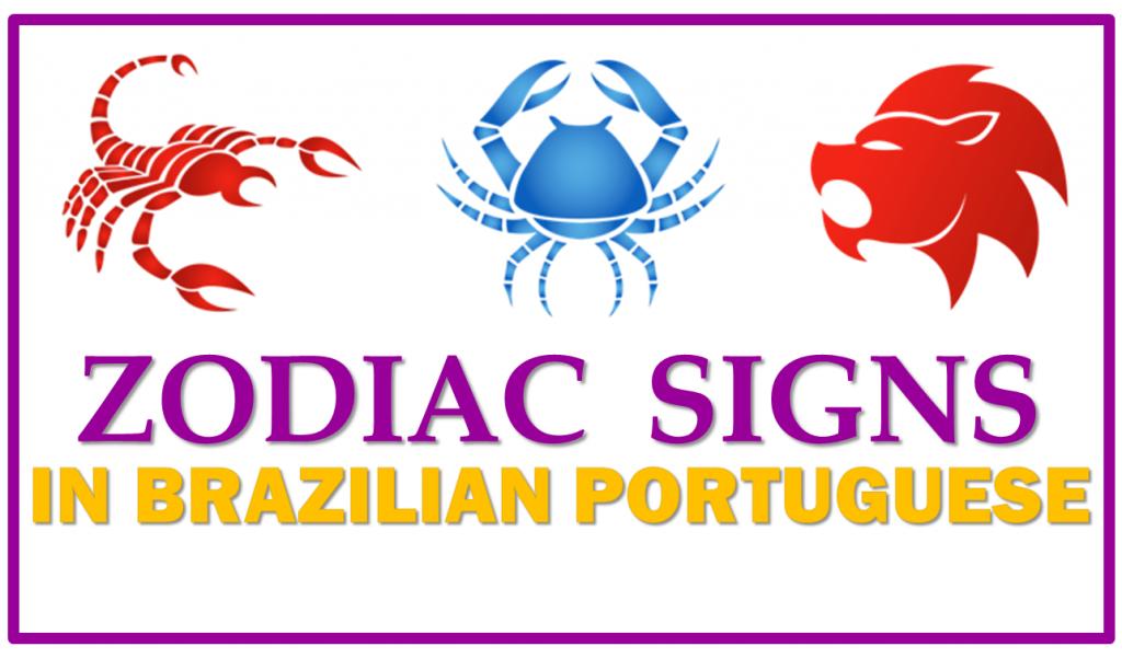 Zodiac Signs in Brazilian Portuguese – Vocabulary