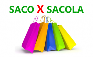 difference between saco sacola portuguese