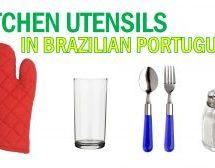 Kitchen Utensils in Brazilian Portuguese – Vocabulary
