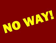 How to say no way in Portuguese