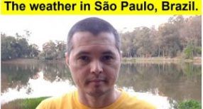 How is the weather in São Paulo, Brazil?